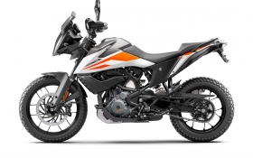 KTM 390 ADVENTURE MY20 White - left