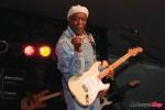 Buddy Guy playing at the Dutch Mason Blues Festival