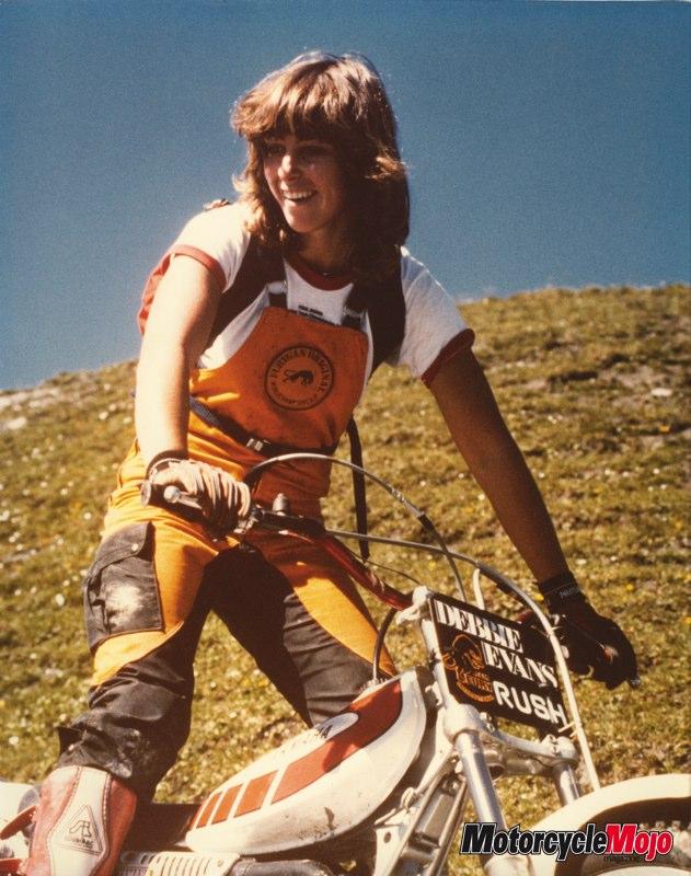 Debbie Evans Debbie Evans Stunt woman and Competitive Motorcyclist
