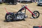 Custom chopper judging at the Canadian biker build off