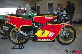 Yamaha Classic Racing Team Suzuki Racer