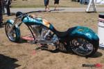 Award winning chopper from the Canadian Biker Build off