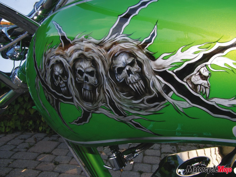 Motorcycle Paint Job Cost Canada