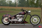 custom built motorcycle out of Ontario Canada