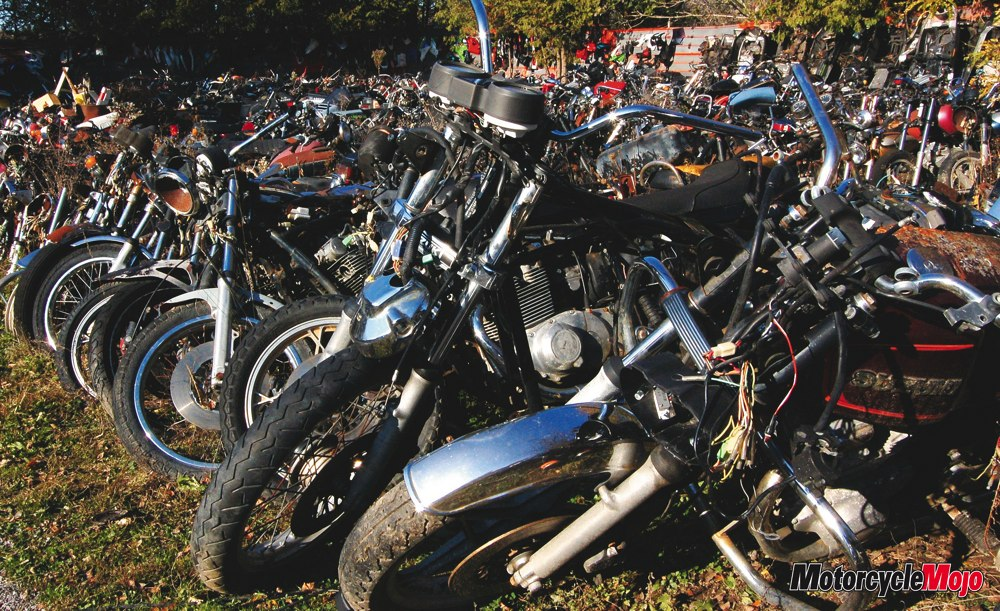 how to buy salvage motorcycles