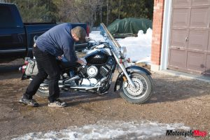 Best practices in storing your motorcycle over the winter