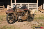 Fully restored and finished Model J Harley-Davidson