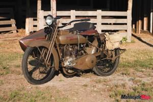 Fully restored and finished Model J Harley-Davidson