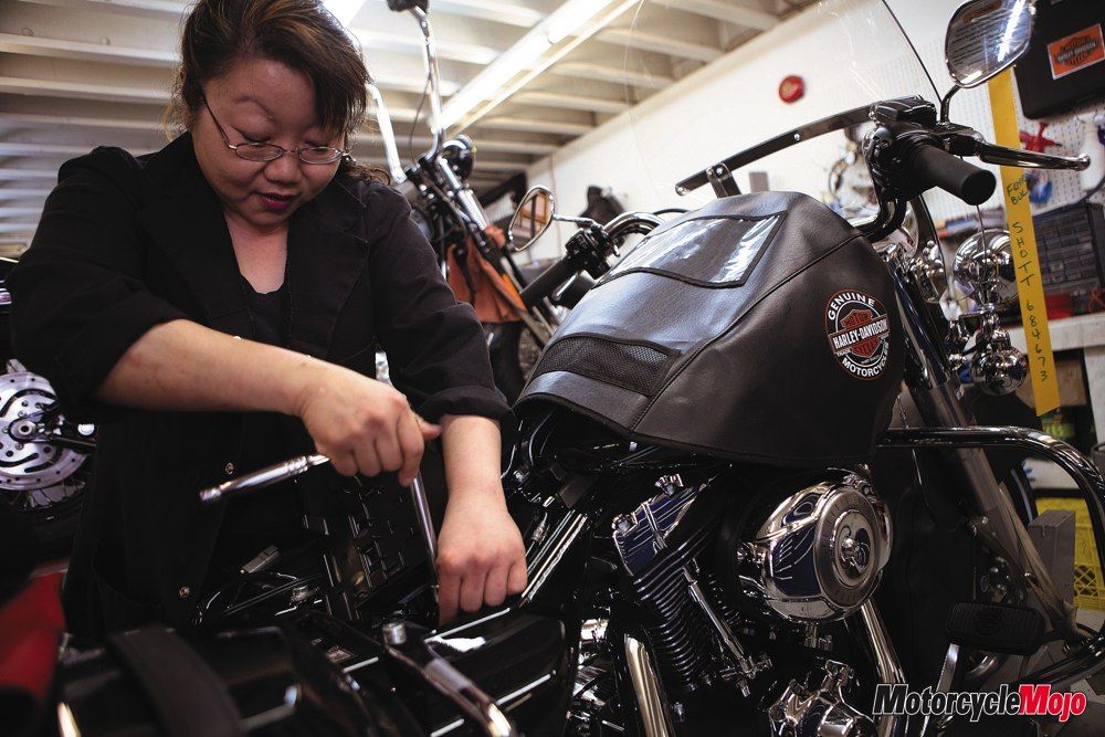 On The Job With Susan Poon Female Motorcycle Mechanic