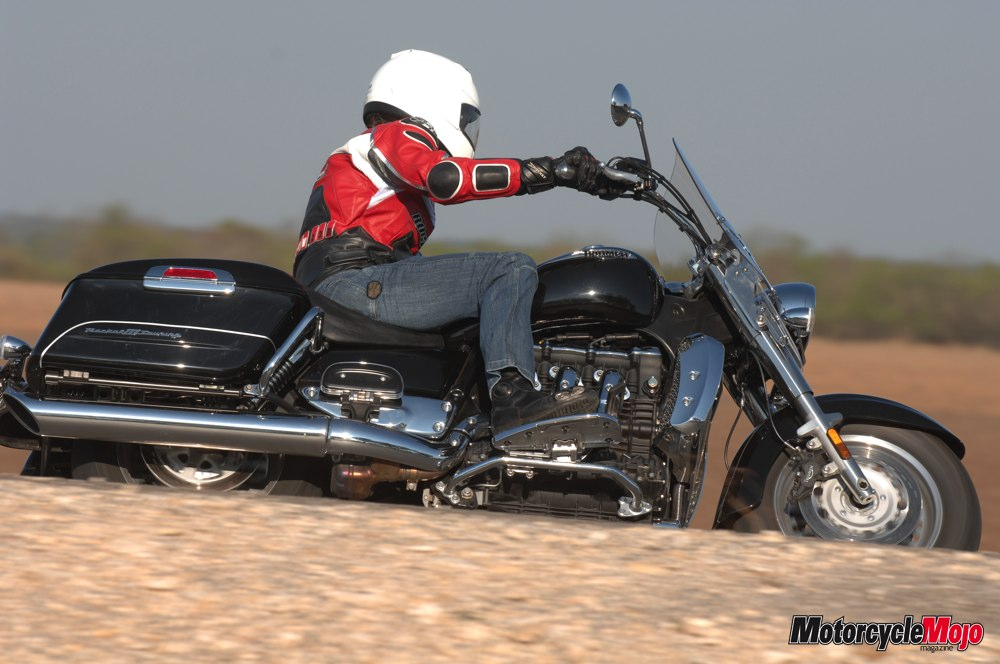 Triumph Rocket  Touring Review