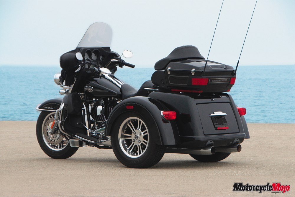 harley-davidson introduces the tri glide for 2009 -