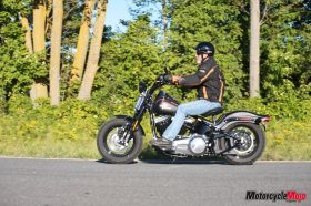 Test drive review of the Harley-Davidson Crossbones