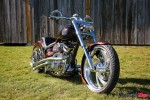 one of Barebone Chopper's on display