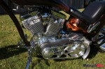 Engine of the Barebone Chopper