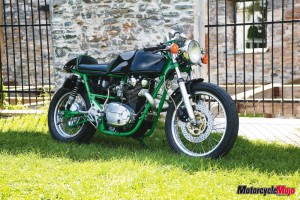 photo of Yamaha XS650 racer