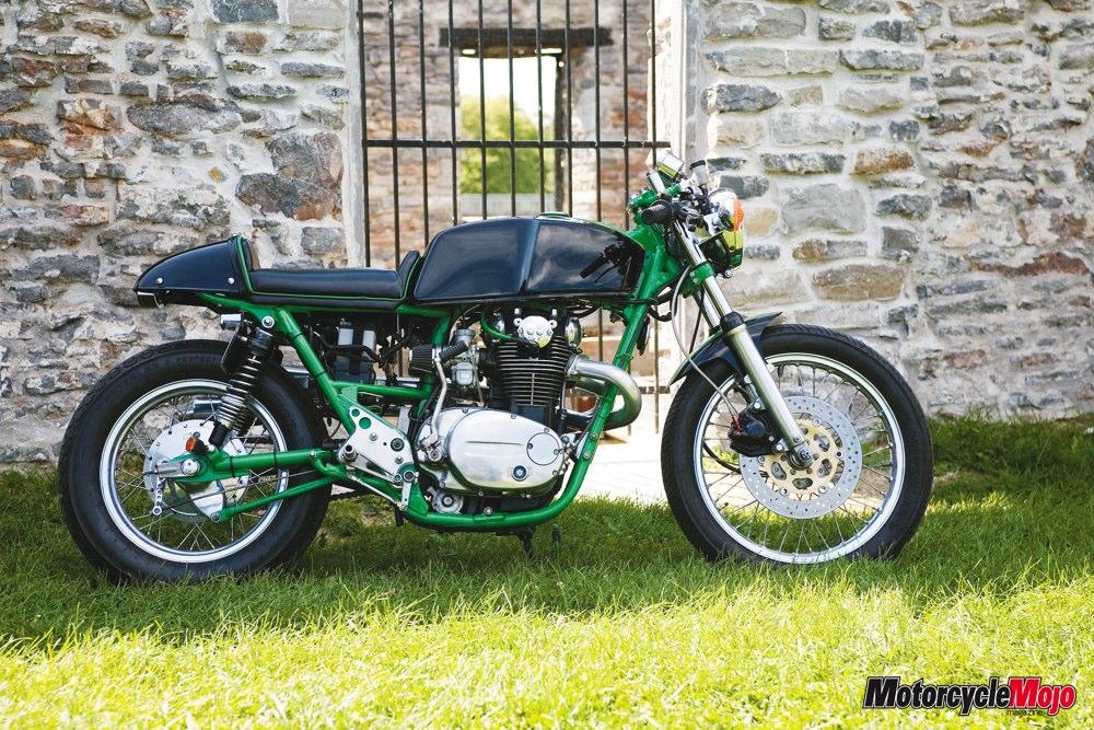 Motorcycle Rear Tire >> Yamaha XS650 Café Racer - Motorcycle Mojo Magazine Canada