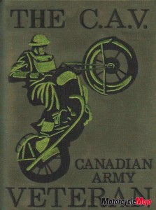 The C.A.V. Canadian Army Veterans Motorcycle Units Logo