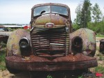 013 - Old truck on property of sawmill, County Road 68 - 1