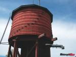026 - One of last wooden watertowers in Ontario, Barry's Bay