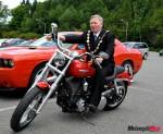 The mean biker look!