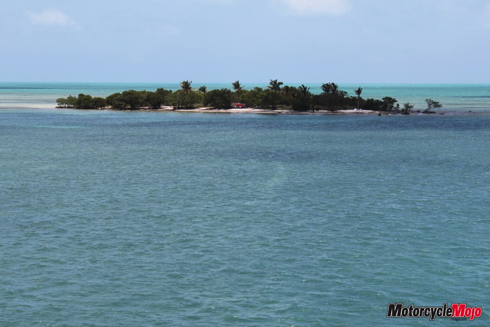 Island off of Seven Mile Bridge