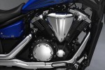 Picture of the Yamaha Stryker XVS1300CU engine