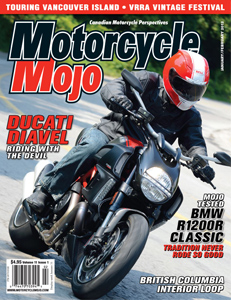 Motorcycle Mojo Cover - January/February 2012