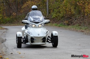 Test Driving the Can-Am Spyder RT Limited