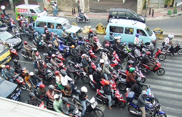 Traffic Indonesia Indonesia Traffic Motorcycle