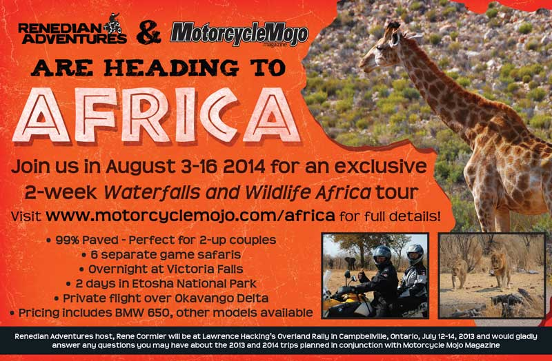 Africa Motorcycle Trip