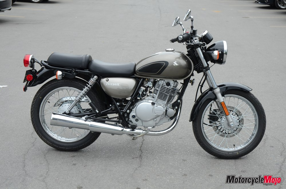 Mojo Test Ride Suzuki Tu250