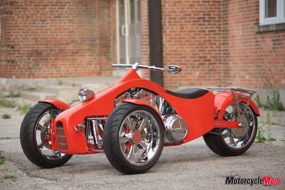 Custom Built Trike Motorcycle Called The Trik Trike A Magazine Feature