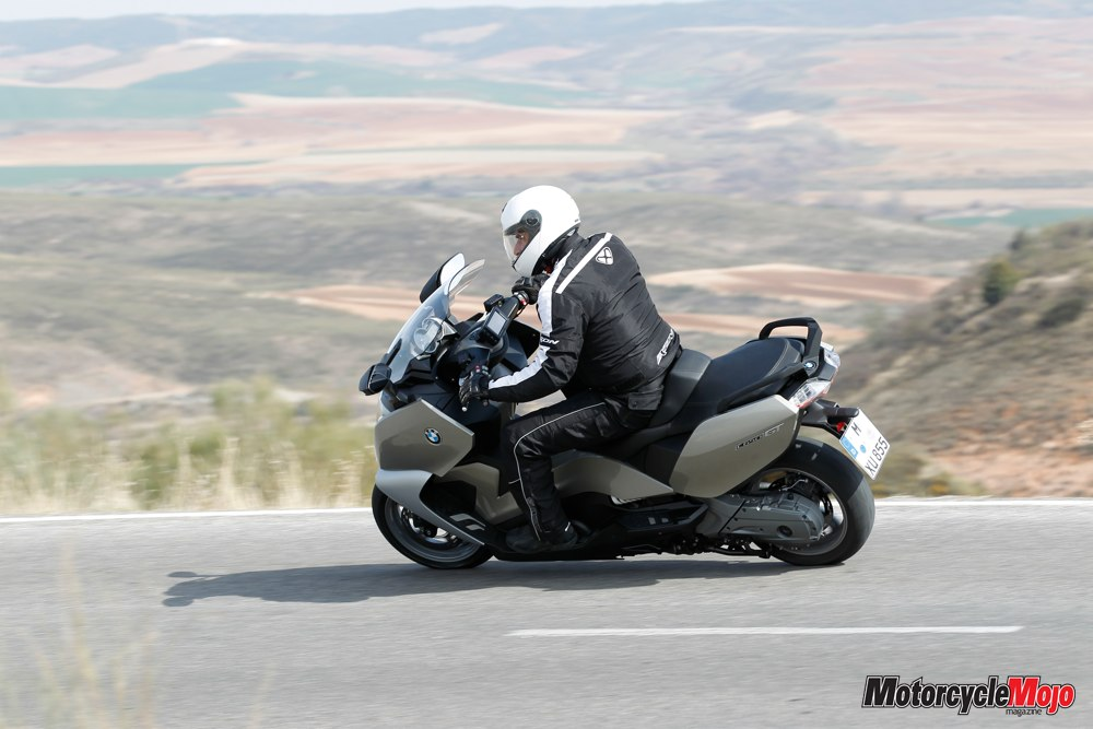 Bmw Maxi Scooter C650gt Review And Test Drive