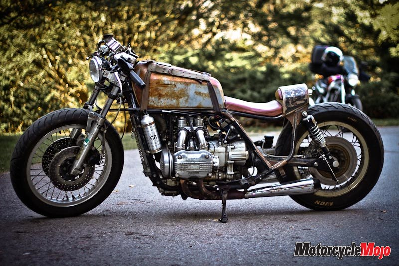 Restored 1975 Goldwing Boober And 1978 Cafe Racer
