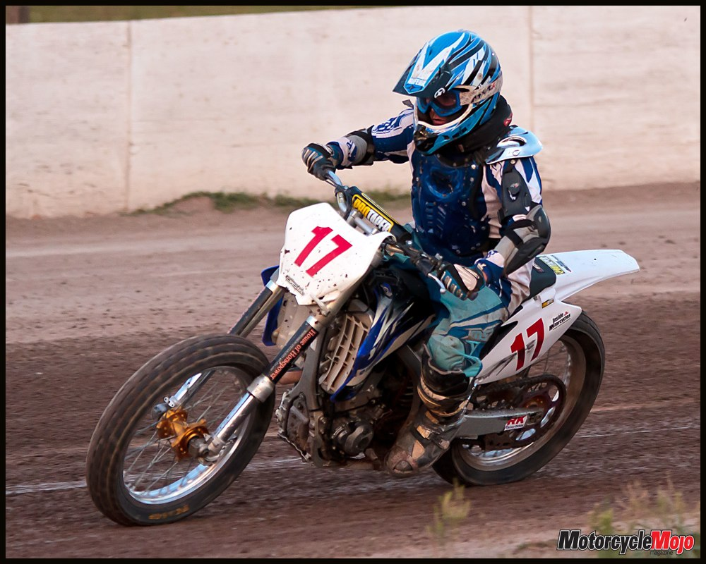 Oval Dirt Motorcycle Racing Flat Track Primer