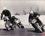 Mary McGee 1960's racing with two others_0002 Motorcycle Mojo April 2013