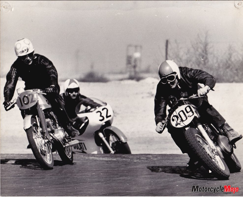 Vintage Racing – Mary McGee Women Motorcycle Driver
