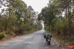 on the way to kon tum, hwy 14c, just before the road turned to sand