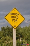 Rough Road Sign
