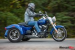 Riding the Harley Davidson Freewheeler