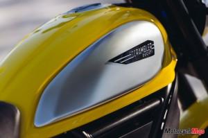 Ducati Scrambler gas tank