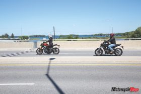 bikes riding side by side