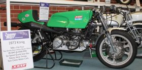 Motorcyle from Sammy miller museum