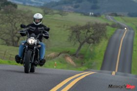 test ride of the 2015 Kawasaki Vulcan S