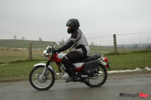 Riding SMY Motorcycle