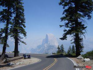 Yosemite in sierra nevadas