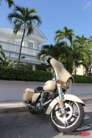 Motorcycle in Florida Keys