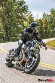 Test ride X132 Hellcat Speedster