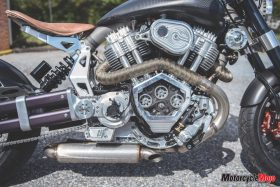 Engine of X132 Hellcat Speedster