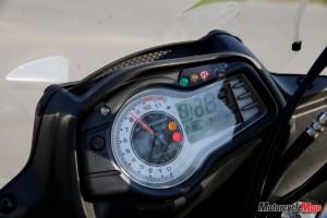 2015 Suzuki DL650X dash